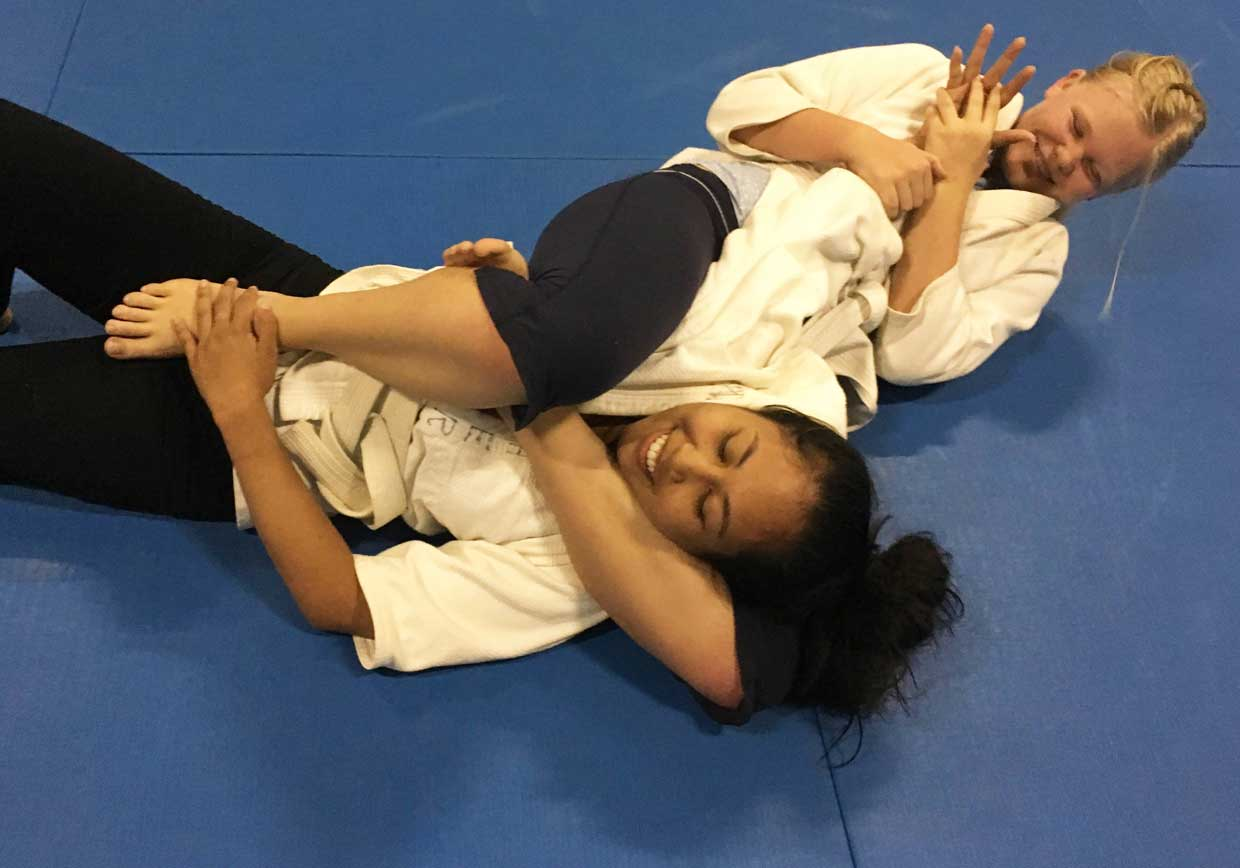 Judo training all ages